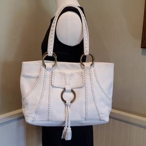Isabella Fiore whipstiched leather bag